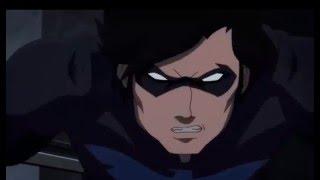 Batman Vs Nightwing / Batman: Bad Blood / Full Fight