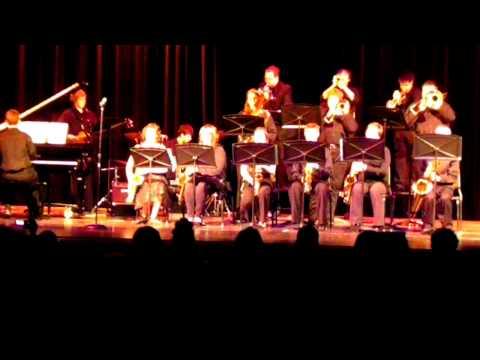 Wheeler High School Jazz Band  Winter Concert 2012