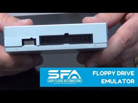 Floppy Drive Emulator for CNC machines