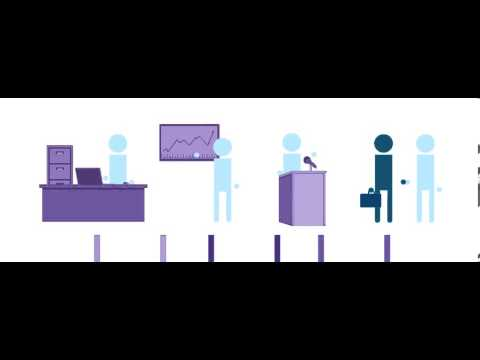 Executives Place Recruiters Animation