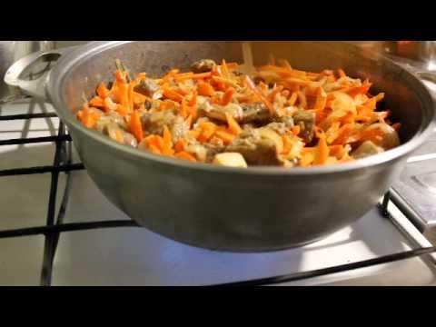Как приготовить плов с мясом - видео