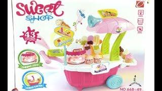 Đồ Chơi Xe Bán Kem 🍎 BoBo Kids 🍎 Toy Car Selling Ice Cream