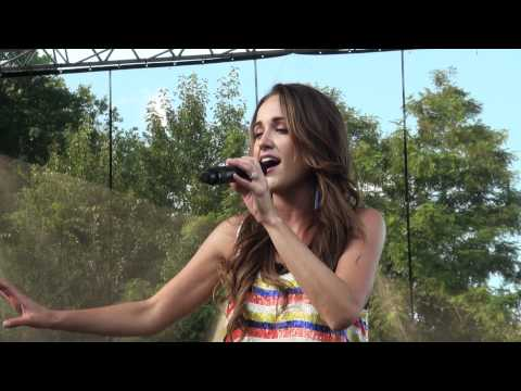 Britt Nicole - All This Time - Six Flags America, Md 2012 video