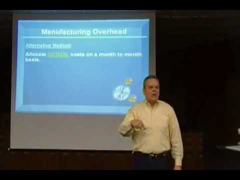 Chap 20 Lecture:  Job Order Costing
