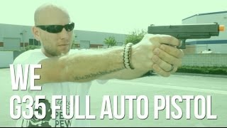 WE G35 Auto Airsoft Gas Blowback - AirSplat On Demand