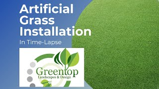 How To Install Artificial Grass - Time-lapse Style!
