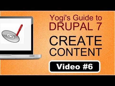 Creating content in Drupal 7 ( Hindi / Urdu ) Episode #6