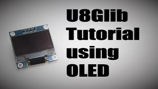 Arduino Tutorial graphics for displays SSD1306