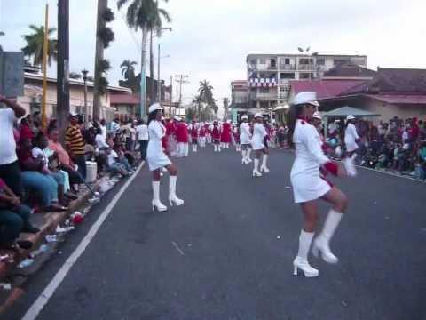 Tambor Mayor Banda Panamá Para Cristo_Desfile en Colón 5 de Nov 2011