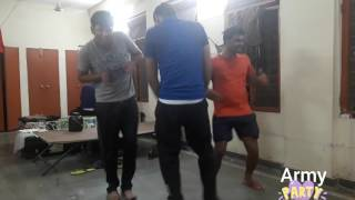 Sandle haryanvi song danced by force personnel
