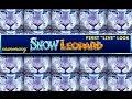 "NEW SLOT! - Snow Leopard Slot Bonus - First ""LIVE"" Look - Slot Machine Bonus"