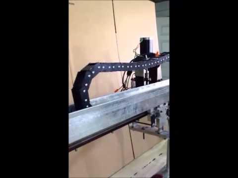 Cadena CNC Porta Cable Parte 2