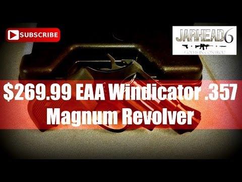 $269.99 EAA Windicator .357 Magnum Revolver Unboxing
