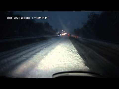 В 400км от Одессы — авария после первого снега
