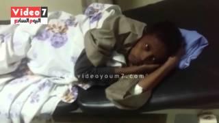 """بالفيديو .. """"صراصير"""" داخل قسم الباطنة بمستشفى أسوان الجامعى"""