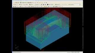 SURFCAM Tutorial - 3-Axis: Step Reduction Milling (SRM)