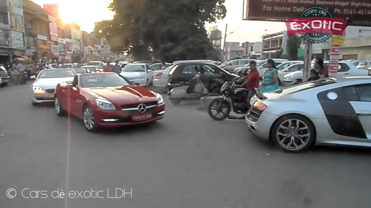 Cars D 232 Exotic Ludhiana Tyre Burners Supercar Rally