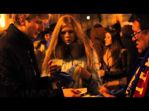 Ukraine protests in Kiev  Sandwiches Gas Masks  Rage21