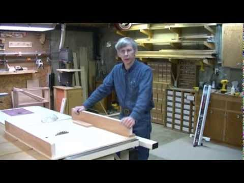 Table Saw Cross-Cut Sled - Winky's Woodworking Tips