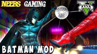 BATMAN BANGS A HOOKER - GTA 5 BATMAN MOD - Batmobile, Batpod, Batwing - Funny Moments