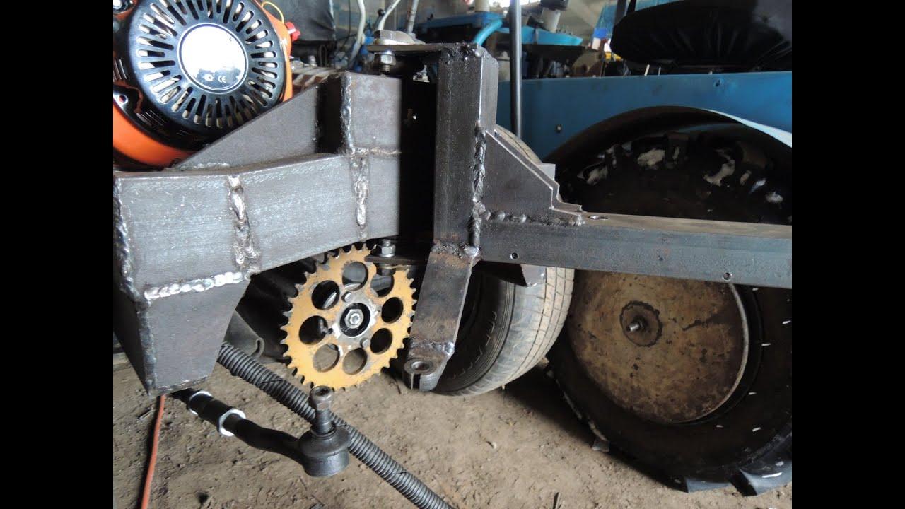 Ременная передача на тракторах своими руками
