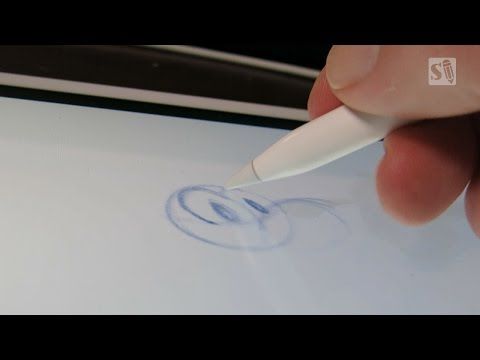 Unboxing Apple Pencil and Drawing Review