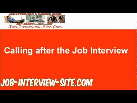 No response after an interview? How Long After an Interview Should ...