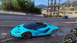 GTA 5 - Siêu bò Lamborghini Centenario Roadster và những cuộc đua xe nghẹt thở | ND Gaming