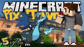 Minecraft: PixelTown Ep. 5 - SHINY CHARIZARD! (Minecraft Pixelmon Mod)