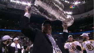 Bruins-Canucks Game 7 Cup Finals Highlights+Celebration NBC 6/15/11 1080p HD