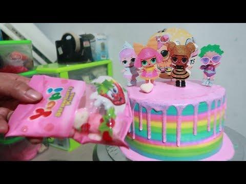 LOL Surprise Dolls Pet - How to Make Birthday Cake LOL Surprise - Cake Decorating Era Now