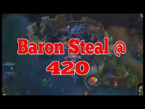 Amazing Baron Steal @ 420 - AFS VS KT 2018 LCK Spring W1D2