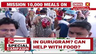 ITV FOUNDATION FOOD CAMPAIGN IN OLD FARIDABAD   NewsX