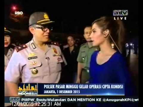 [ANTV] SMI Live Polsek Pasar Minggu Gelar Operasi Cipta Kondisi