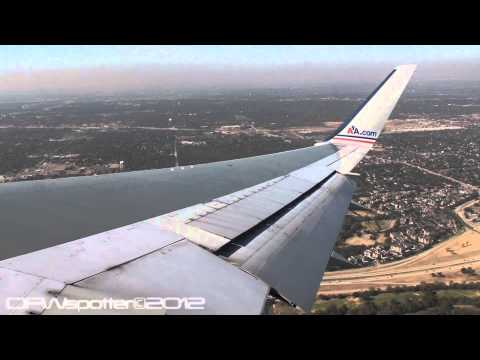 American Airlines 767-300 Takeoff From Dallas/Fort Worth International Airport [HD]