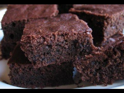Receta de bizcocho de chocolate -Brownie de keyks