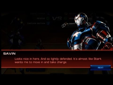 Marvel Avengers Alliance Spec Ops 9: Mission 2 (Epic Boss Iron Patriot Armor)
