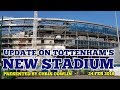 Download UPDATE ON TOTTENHAM'S NEW STADIUM: News on the Roof Lift, Tiles, West Stand: 24 February 2018 in Mp3, Mp4 and 3GP