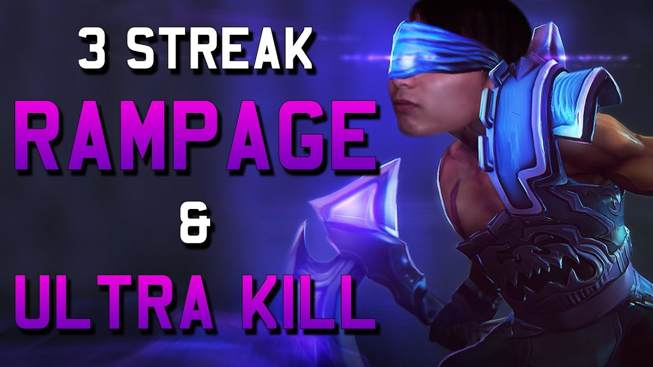 3 STREAK RAMPAGE & ULTRA KILL (SingSing Dota 2 Highlights #1166)