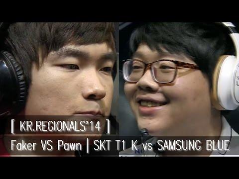 [ KR.Regional'14 ] Faker vs Pawn | SKT T1 K vs Samsung White | Tiebreaker