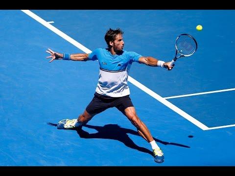 Feliciano Lopez vs Jerzy Janowicz Highlights HD PART 2 Australian Open 2015