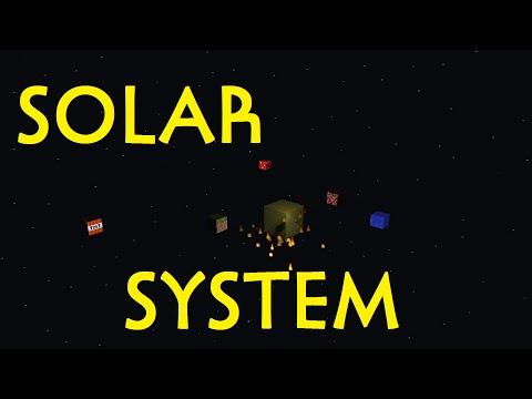 Minecraft Animation: Solar System!