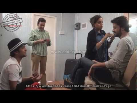 Behind The Scenes (SurKshetra) - Atif Aslam mentoring the contestants...