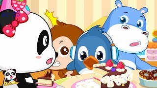 Rudolph Loves Birthday Cake | Panda Miumiu's Birthday Party | BabyBus Cartoon