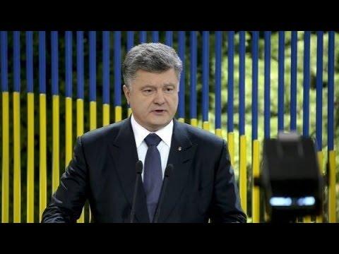 Порошенко официально отказался от Донбасса
