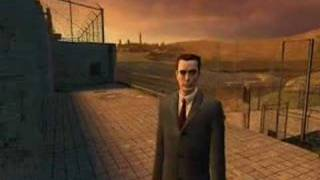 Half-Life 2 G-man Sightings