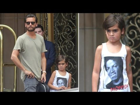 Mason Disick Pays Tribute To Michael Jackson While Scott Is Asked About Kourtney Reunion