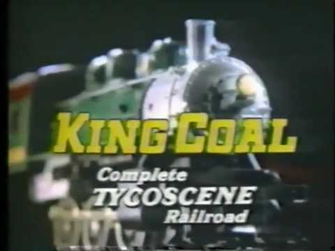 TYCO 1982 King Coal Train Set TV Commercial