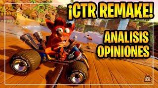 Crash Team Racing Nitro Fueled (CTR REMAKE) Trailer Análisis a fondo, Review y Opiniones! EN ESPAÑOL