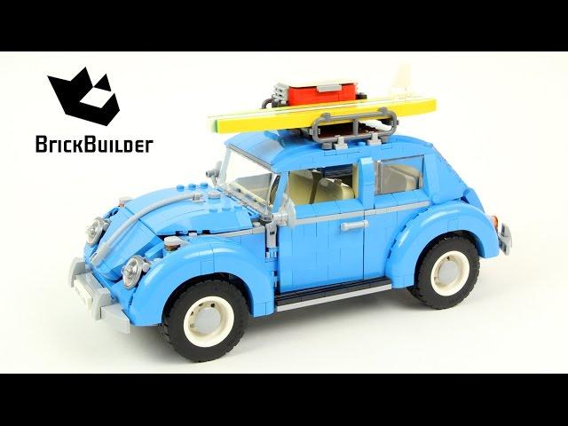 Lego Creator 10252 Volkswagen Beetle - Lego Speed Build ...